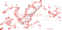 FRAME CHASSIS voor Honda DYLAN 125 2002